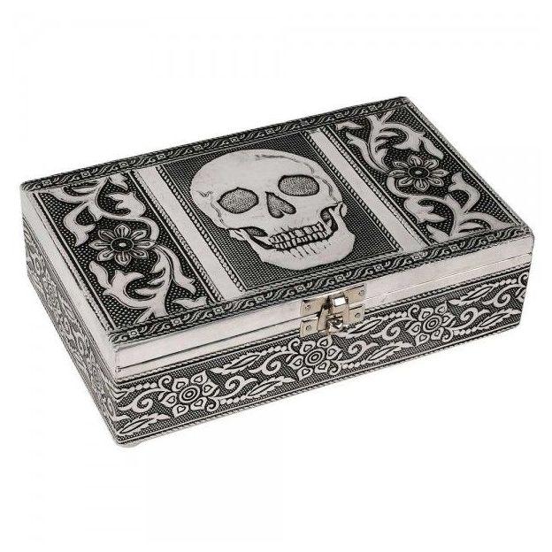 Coffret à bijoux Tête de mort
