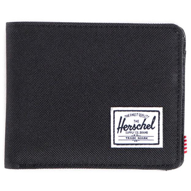 Porte-monnaie Hank and Coin de Herschel noir