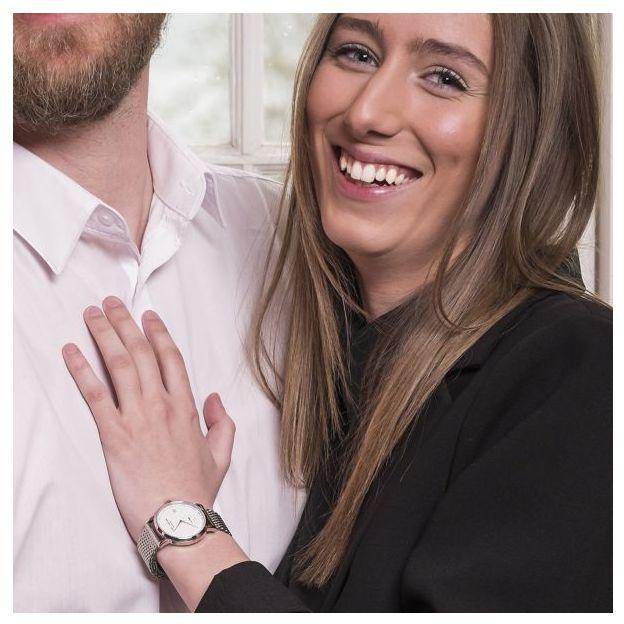 Montre femme Lars Larsen bracelet Mesh acier 35 mm