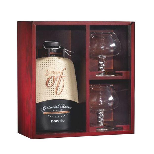 Coffret Imperial Taste Of Amarone Barrique avec 2 verres