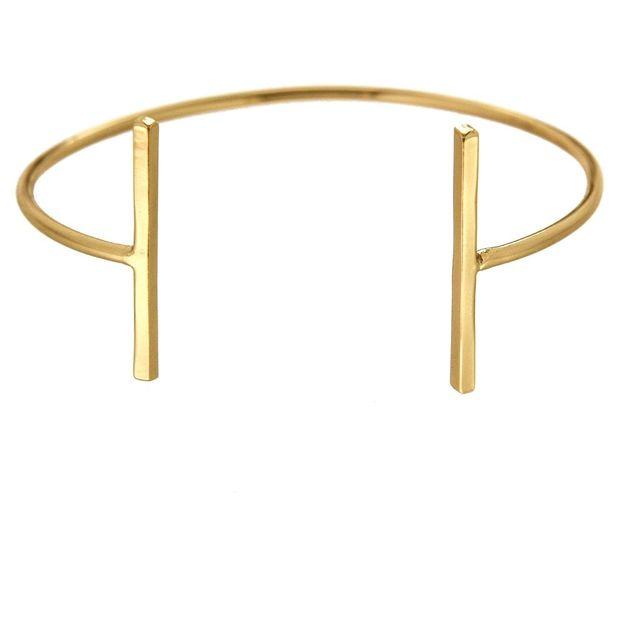 Bracelet piliers doré Delhi