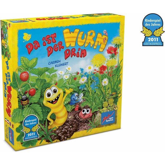 Le rallye des vers de terre, jeu pour enfant