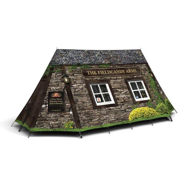 Tente de camping FieldCandy Pub anglais pour 2 pers.