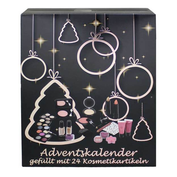 Adventskalender Sterne mit Make Up