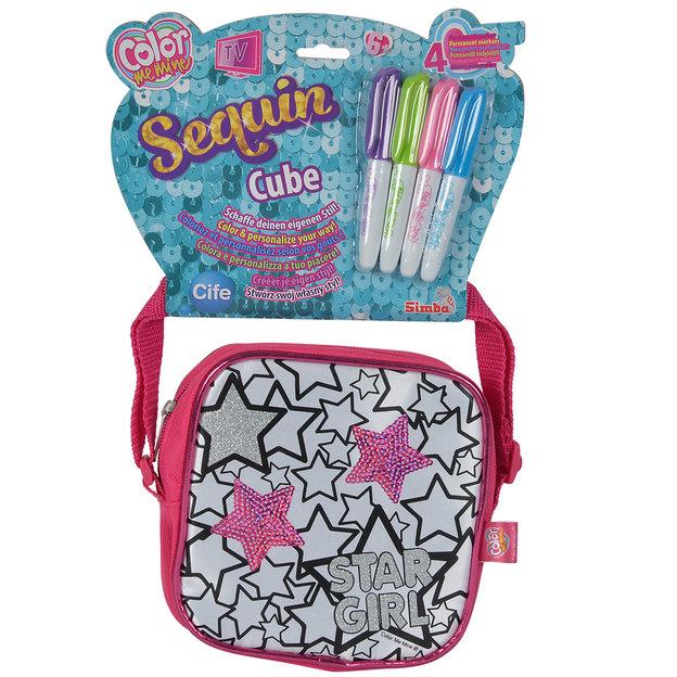 Color me mine Sequin Cube mit Pailletten