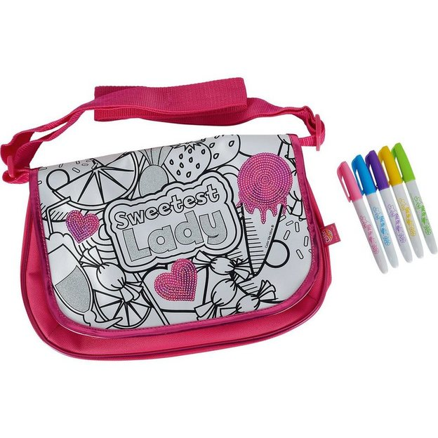 Color me mine New Messenger mit Pailletten