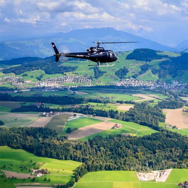 Helikopterflug: Stadtrundflug Luzern