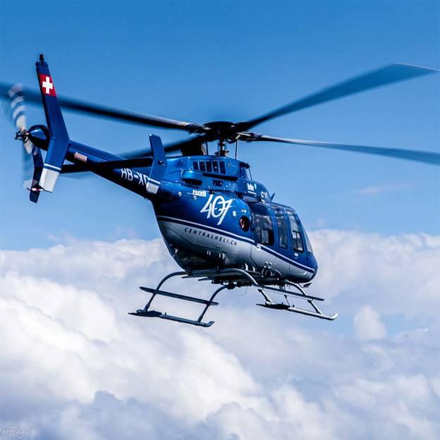 Helikopterflug: Stadtrundflug Luzern (20 Minuten)