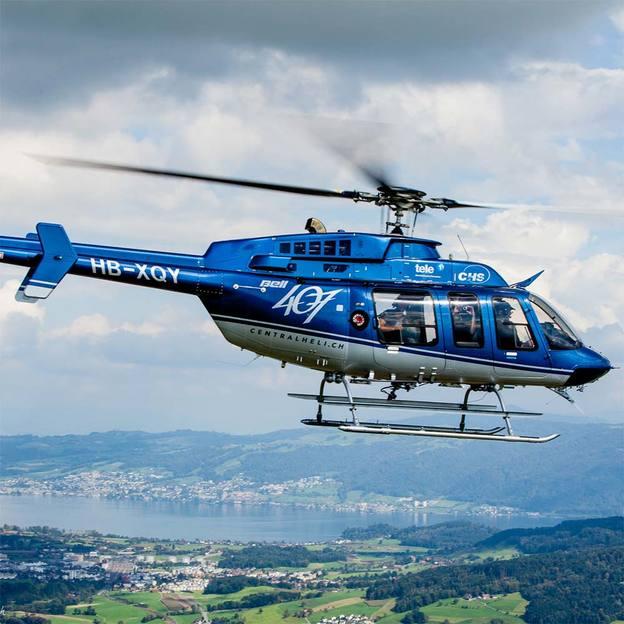 Helikopterflug: Rigi / Pilatus (30 Minuten)