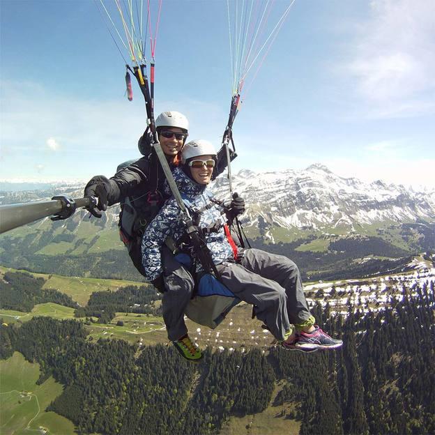 Gleitschirm Panoramaflug in Appenzell