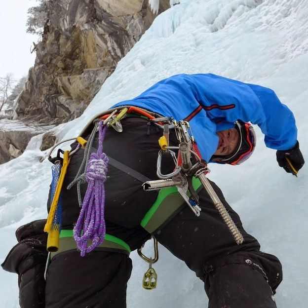 Steileisklettern 2-Tages-Kurs für eine Person