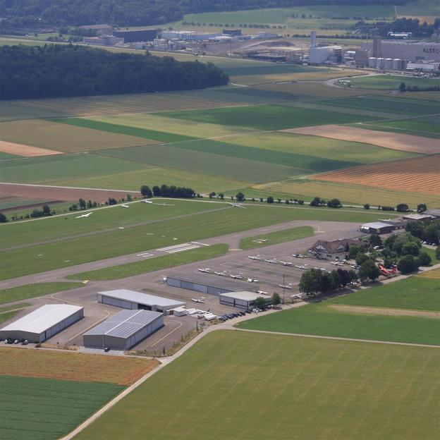 Rundflug über Mellingen und Lenzburg