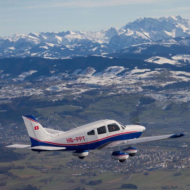 Rundflug über den Rhonegletscher
