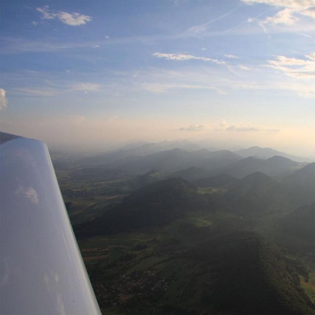 Rundflug über Jura (Aarau - Olten)