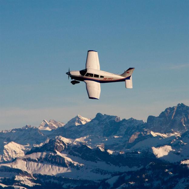Rundflug über den Jura (Aarau - Olten)