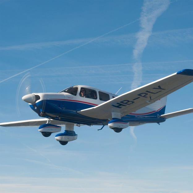 Vol au-dessus du Jura