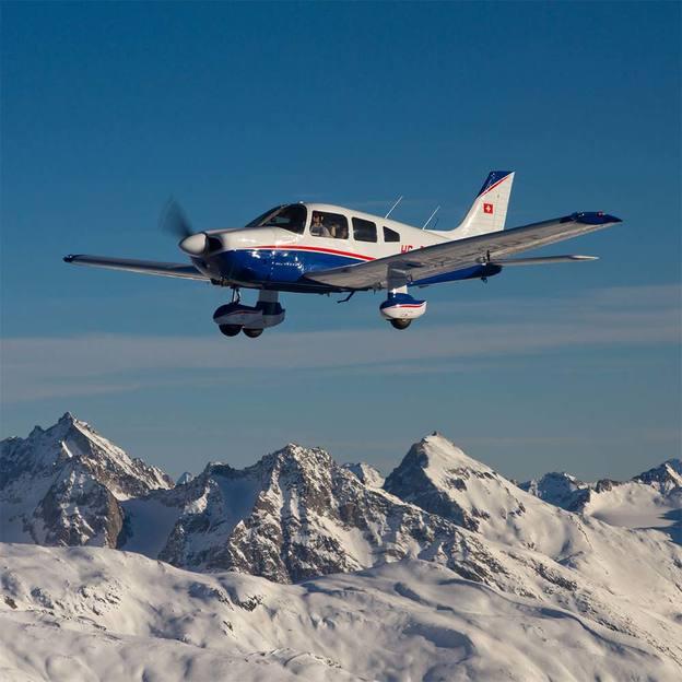 Vol au-dessus du Rigi et de Lucerne