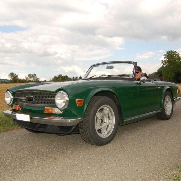 Triumph TR6 für ein Wochenende