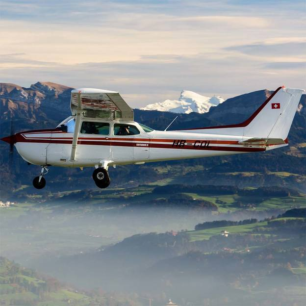 Flugzeugrundflug zum Matterhorn