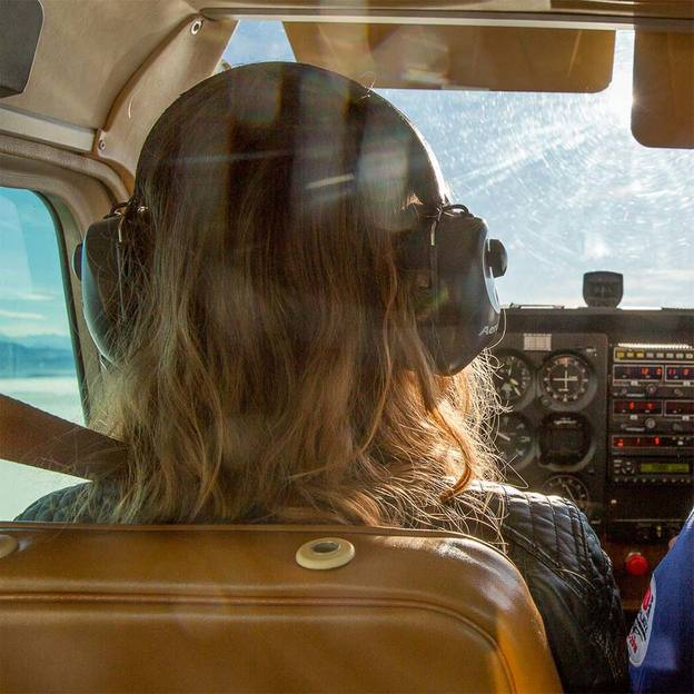 Flugzeug-Schnupperflug für eine Person