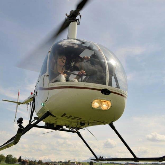 Helikopter selber fliegen 40 Minuten