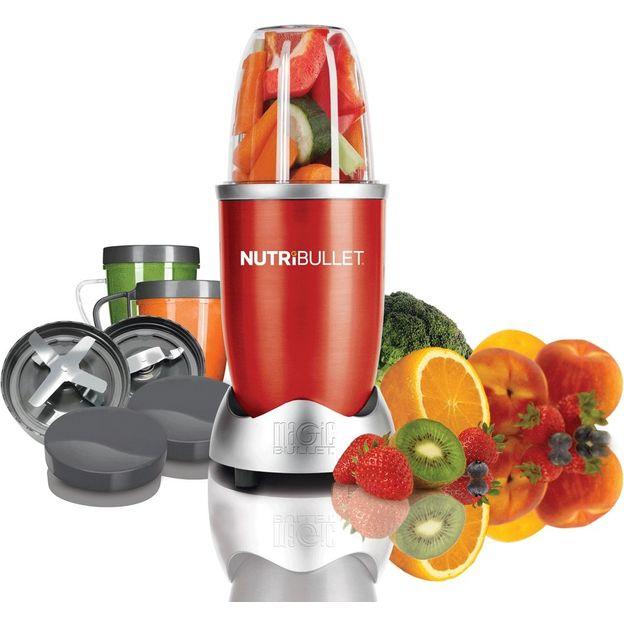 NutriBullet Extracteur de jus et nutriments rouge