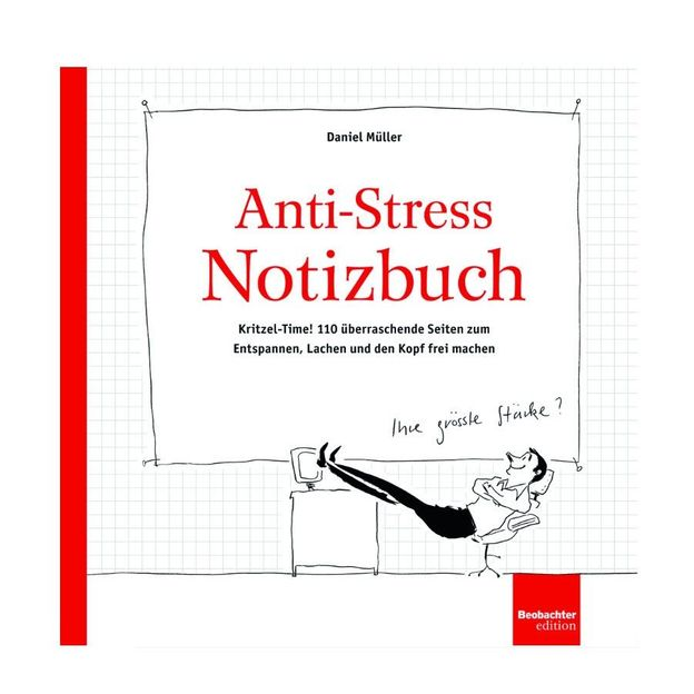Anti-Stress Notizbuch