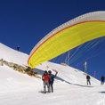 Gleitschirm Passagierflug in Graubünden