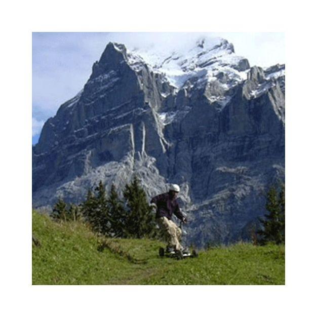 Mountainboarden in Flims GR