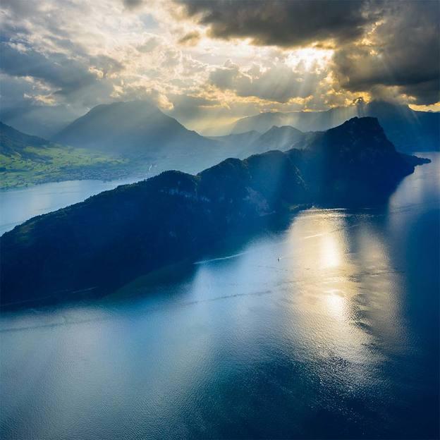 Vol en hélicoptère: Suisse orientale 11 lacs