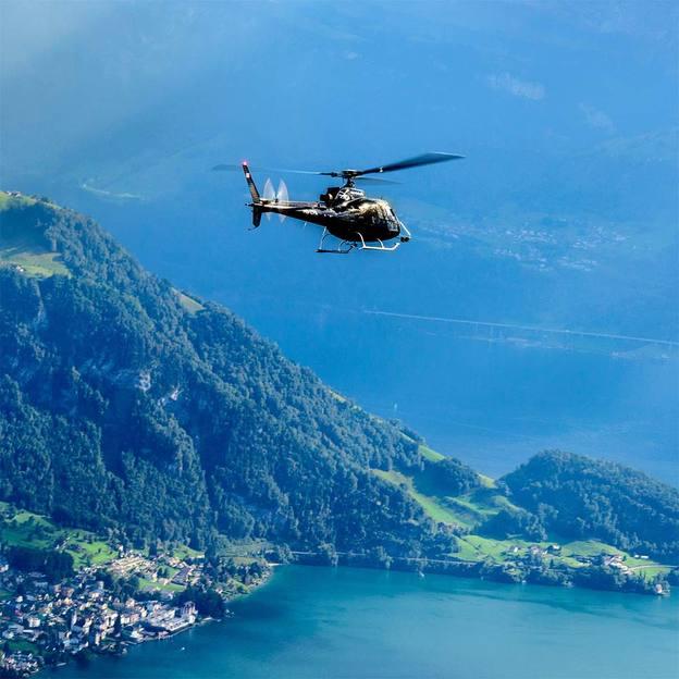 Vol en hélicoptère: Suisse orientale 9 lacs