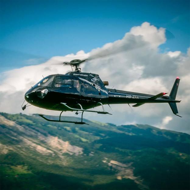 Helikopterflug: Ostschweiz 11-Seen-Flug