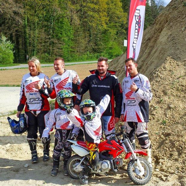 Motocross avec le champion européen le samedi