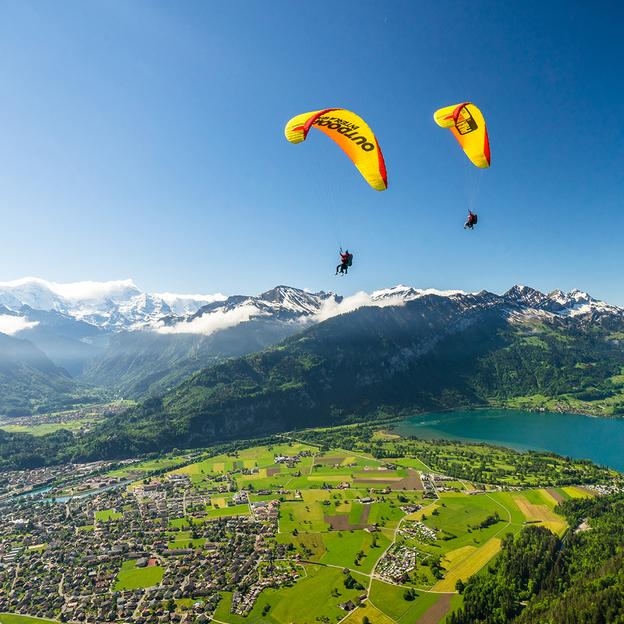Gleitschirm Passagierflug «Double Airtime» Berner Oberland