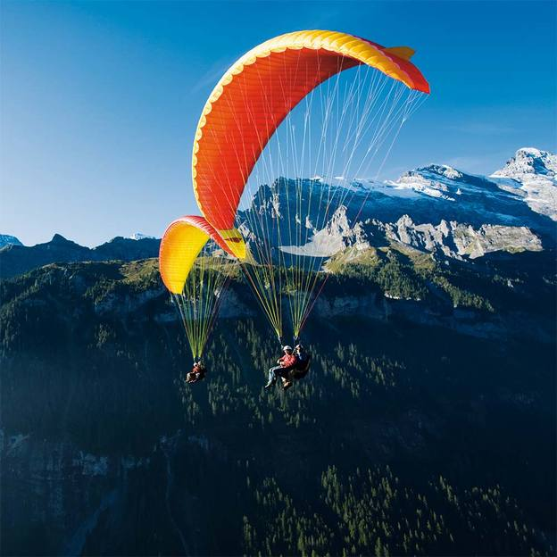 Vol en Parapente Biplace «Big Blue» Oberland Bernois