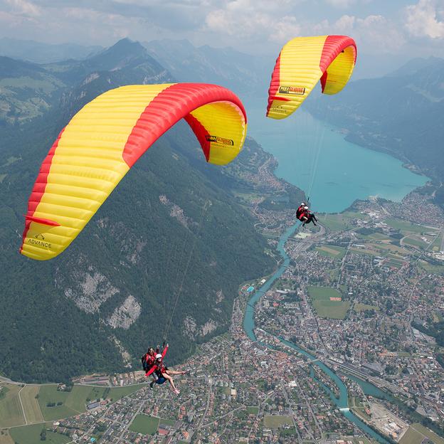 Vol en Parapente Biplace «Big Blue» Oberland Bernois