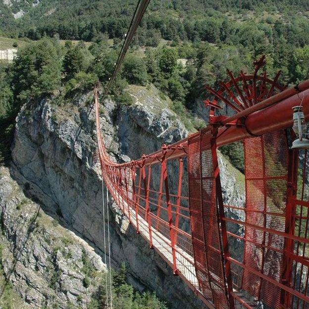 Giant Swing Riesen-Pendel im Kanton Wallis
