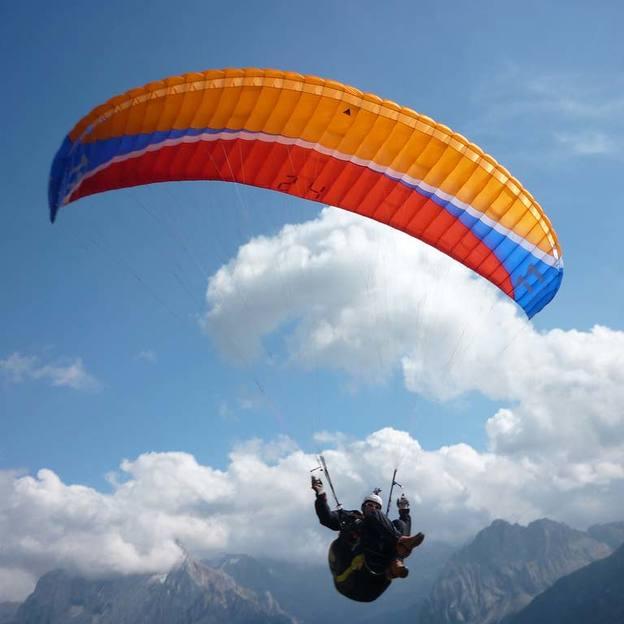 Vol d'initiation en parapente dans l'Appenzell