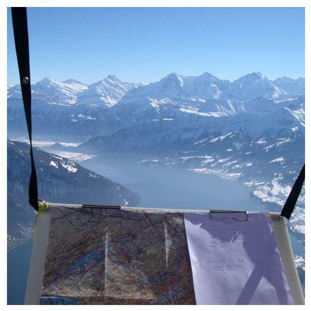 Voralpen / Alpenfahrt mit dem Heissluftballon