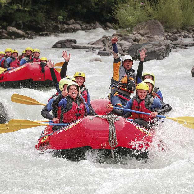 River Rafting auf der Lütschine