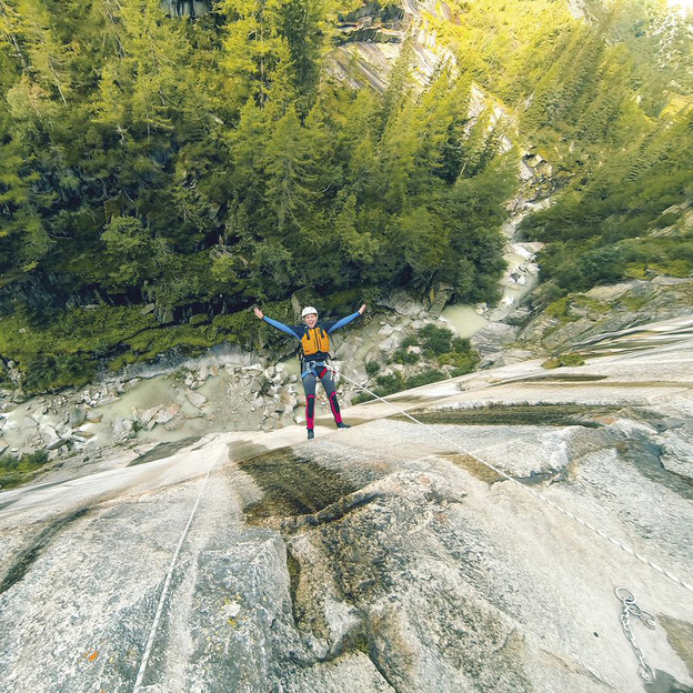 Canyoning Grimsel