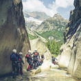 Canyoning Grimsel BE