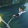 Bungee Jump au Stockhorn 134 m BE