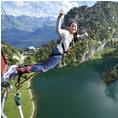 Bungee Jumping Stockhorn aus 134 Metern