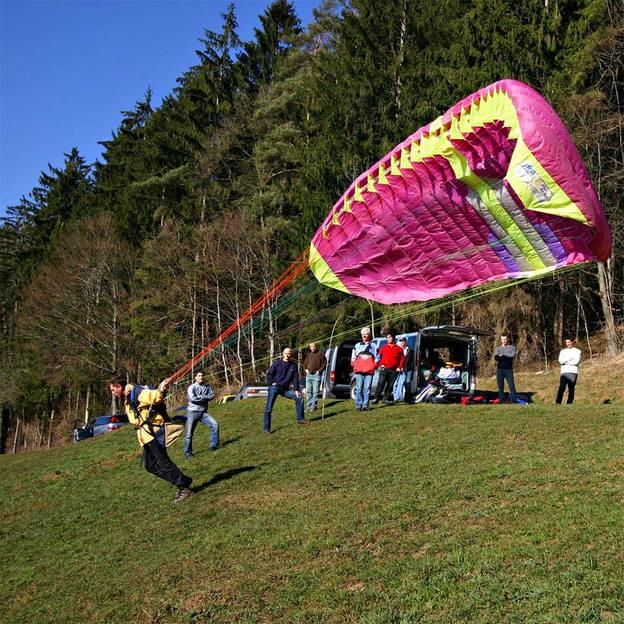 Gleitschirm Schnupperflug im Kanton St. Gallen