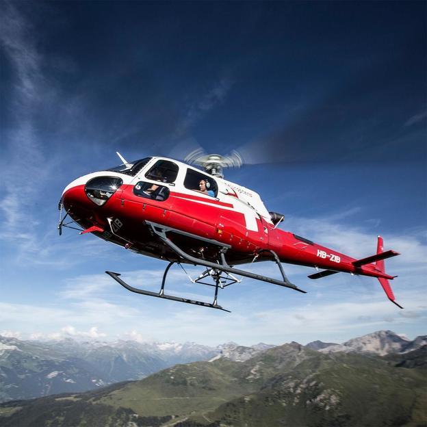 Helikopter Rundflug: Fürstliches Ländle