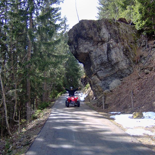 Quad Bergtour im Berner Oberland