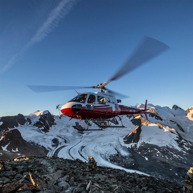 Tours en hélicoptère: découvrez la Suisse