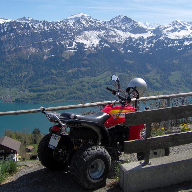 Quad Tour panoramique dans l'Oberland Bernois