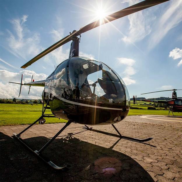 Helikopter selber fliegen 30 Minuten